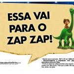 Plaquinhas Divertidas O Bom Dinossauro 6