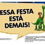 Plaquinhas Divertidas O Bom Dinossauro 8
