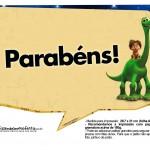 Plaquinhas O Bom Dinossauro