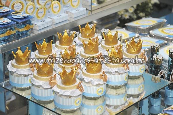 Pote de Papinha Festa Coroa do Miguel