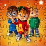 Quebra-cabeça Kit Festa Alvin e os Esquilos Desenho