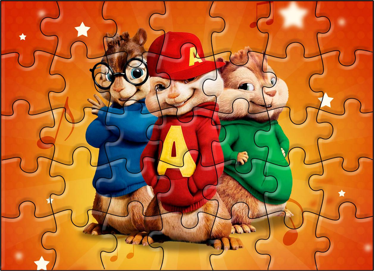 Quebra-cabeça Alvin e os Esquilos