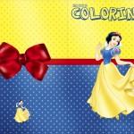 Revista Colorindo Festa Branca de Neve