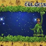 Revista Colorindo O Bom Dinossauro