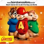 Rótulo Baton Garoto Alvin e os Esquilos