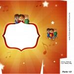 Sacolinha Surpresa Alvin e os Esquilos Desenho - Parte 2