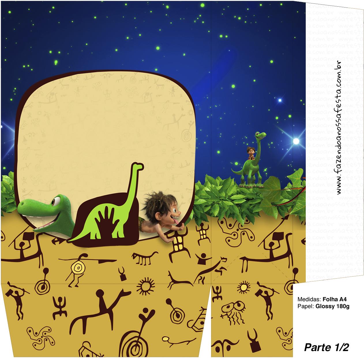 Sacolinha Surpresa O Bom Dinossauro Parte 2 O Bom Dinossauro
