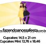 Saias Wrappers para Cupcakes 2 Cumplices de um Resgate