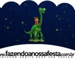 Saias Wrappers para Cupcakes 2 O Bom Dinossauro