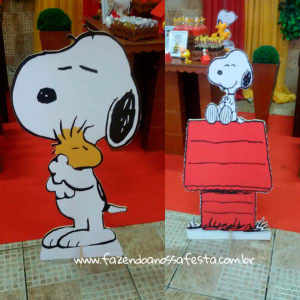 Toten Festa Infantil Snoopy do Pedro