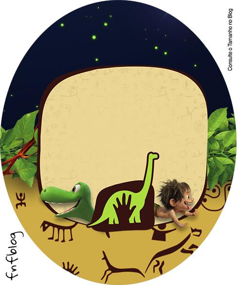Tubete Oval O Bom Dinossauro