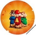 Tubete, Toppers e Latinhas Alvin e os Esquilos