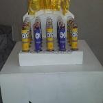 Tubetes da Festa Minions