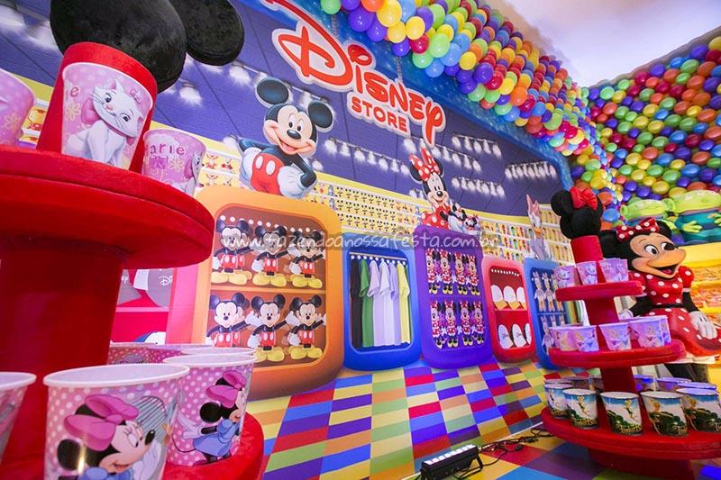 Balde de Pipoca festa Disney Perylampo Festas