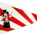 Bandeirinha Sanduiche 7 Mickey Circo