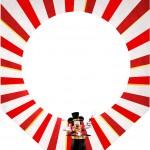Bandeirinha Varalzinho Mickey Circo