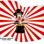Bandeirinha Varalzinho Mickey Circo 2