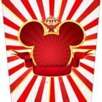 Bisnaga Flip Top Mickey Circo
