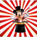 Bolinha de Sabão Mickey Circo