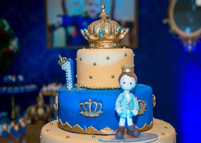 Bolo - Ideias Festa Príncipe Arthur