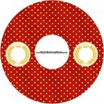CD DVD Realeza Vermelho
