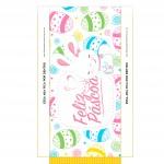 Caixa Barra de Chocolate para Páscoa-3-Verso