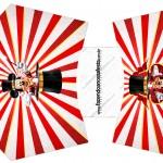 Caixa Batata frita Mickey Circo