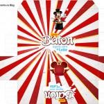 Caixa Baton Mickey Circo