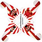 Caixa Bombom Mickey Circo