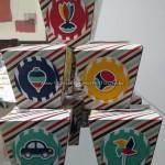 Caixa China in Box Tema Brinquedos do Davi