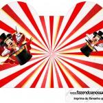 Caixa Coracao Mickey Circo