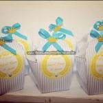 Caixa Cupcake Festa Tema Príncipe do Adriel