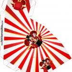 Caixa Fatia Mickey Circo