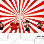 Caixa Leite Mickey Circo
