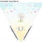 Caixa Piramide Jardim das Borboletas