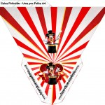 Caixa Piramide Mickey Circo