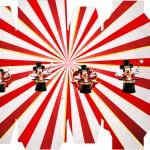 Caixa Sabonete Mickey Circo