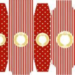 Caixa Sabonete Realeza Vermelho