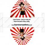 Caixa Vestido Mickey Circo
