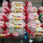 Caixa bala Festa Brinquedos do Davi