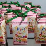 Caixa de leite Festa Brinquedos do Davi