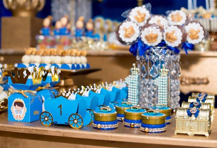 Caixinhas 2 - Ideias Festa Príncipe Arthur