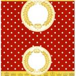 Cartao Agradecimento Realeza Vermelho