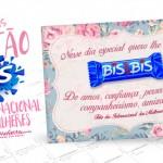 Cartão para Dia Internacional da Mulher – Grátis