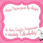 Cartão Bis Páscoa Crista Rosa 2