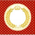 Cartao Realeza Vermelho