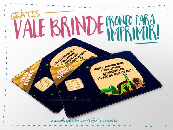 Cartão Vale Brinde