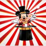 Cartao ou Convite Mickey Circo