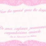 Cartão para Dia Internacional da Mulher 5