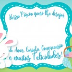 Cartão para Páscoa Personalizado com Bis